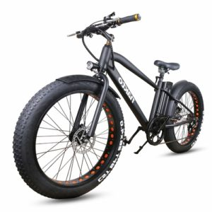 NAKTO fat tire cruiser electric bike for fun and enjoyment on the weekend
